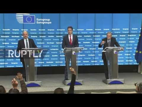 LIVE: Eurogroup meeting in Brussels - Final press conference