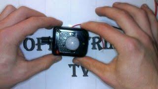 подключаем датчик движения от ардуино (без ардуино)