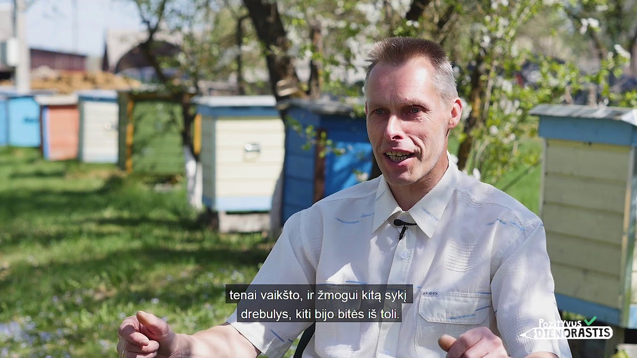 #693. Bitininkas Vytautas: Bitininkystė yra mano ...