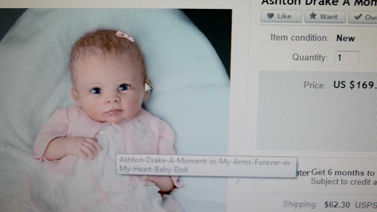 Como comprei meus bebes reborn pelo ebay youtube - Comprar cambiador bebe ...