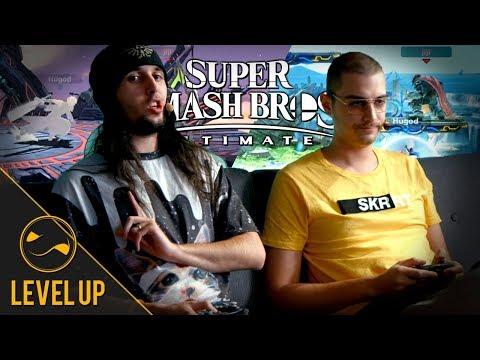 Jiraya entraîne Hugo sur Super Smash Bros. Ultimate - Level Up