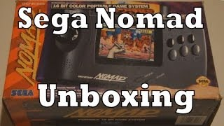 Sega Nomad Handheld Console Unboxing & Review