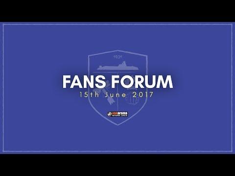 Fans Forum (15th June 2017)