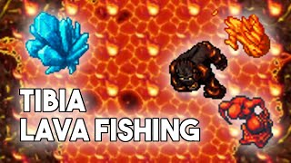 [PL] Tibia   T๐o Hot to Handle Quest   Lava Fishing