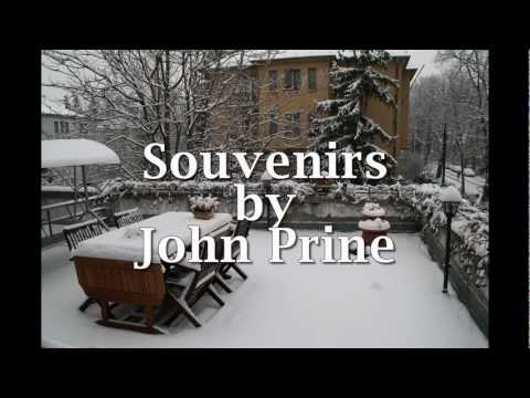 Souvenirs by John Prine - Cover (a revisit)