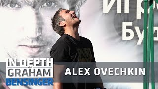 Alex Ovechkin at home: Shooting contest in backyard net