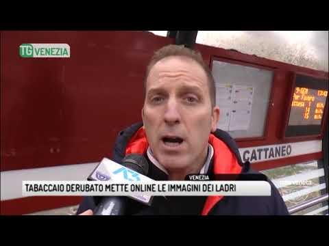 TG VENEZIA (09/01/2018) - TABACCAIO...