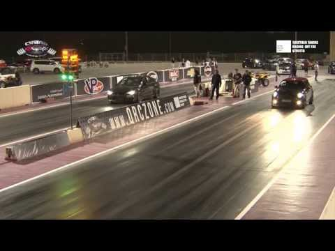 Qatar National Street Drag Championship 2014 - Round 2 - Full Race