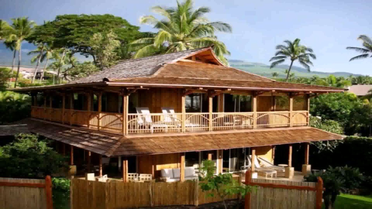 Homes design balinese style youtube Bali house designs floor plans