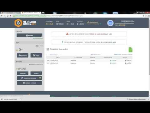 Primeiro passo para ganhar dinheiro no mercado BITCOIN