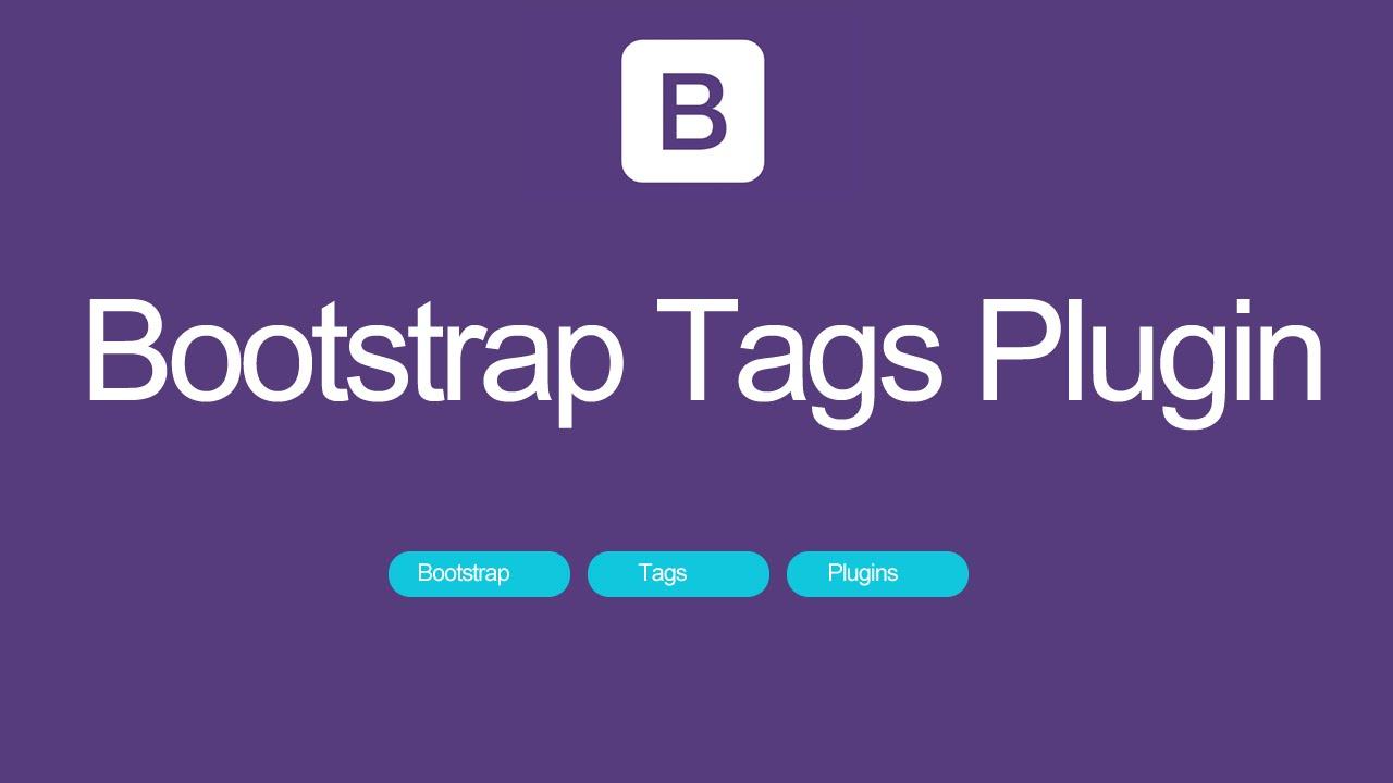Bootstrap tags plugin youtube falaconquin