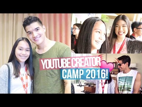 VLOG: Meeting Alex Wassabi! (Youtube Creator Camp Manila 2016) | ThatsBella