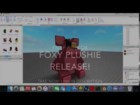 Roblox FNAF Foxy Model Release! (Roblox)