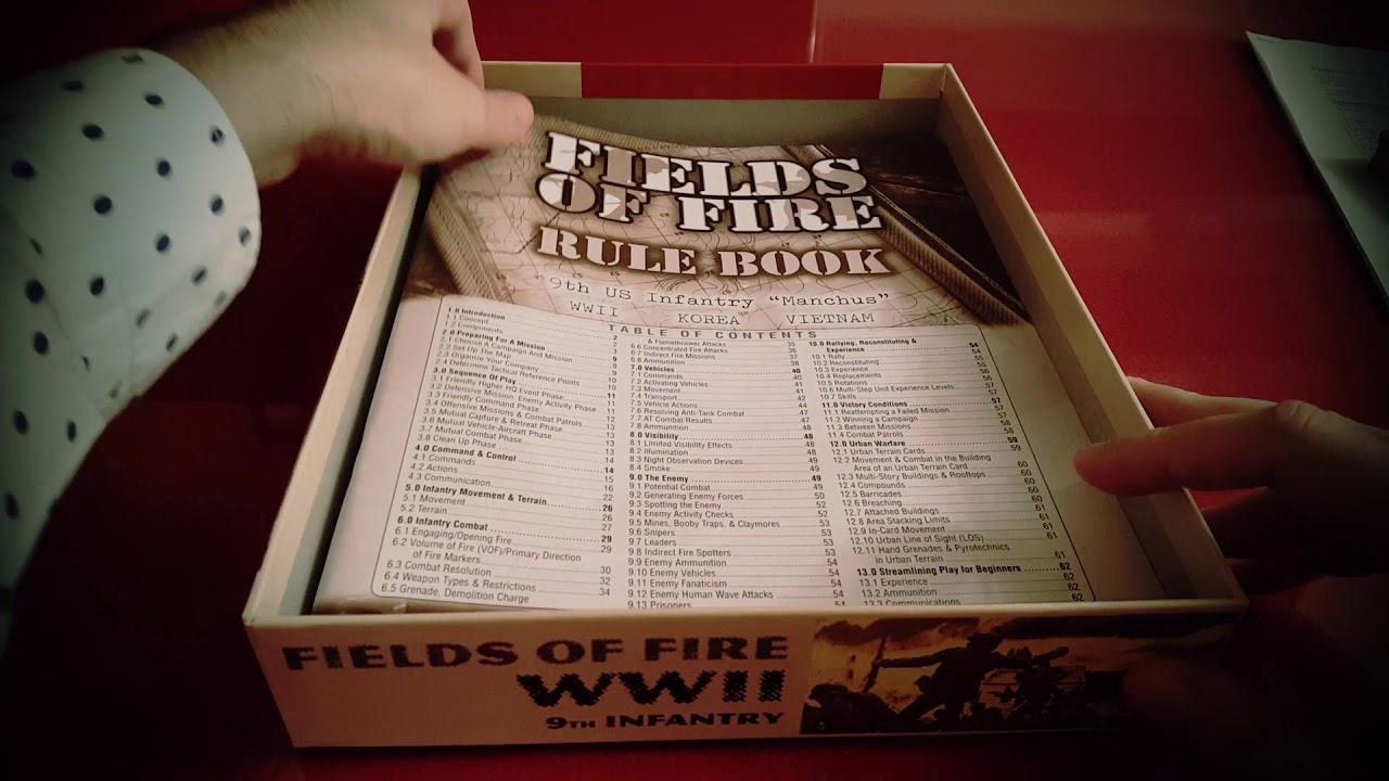 Wargames De Mesa Solitario Fields Of Fire 2ª Edicion 4 Youtube