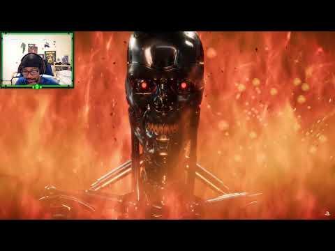 SPECIAL K REACTS: Mortal Kombat 11 - Official Terminator T-800 Gameplay Trailer