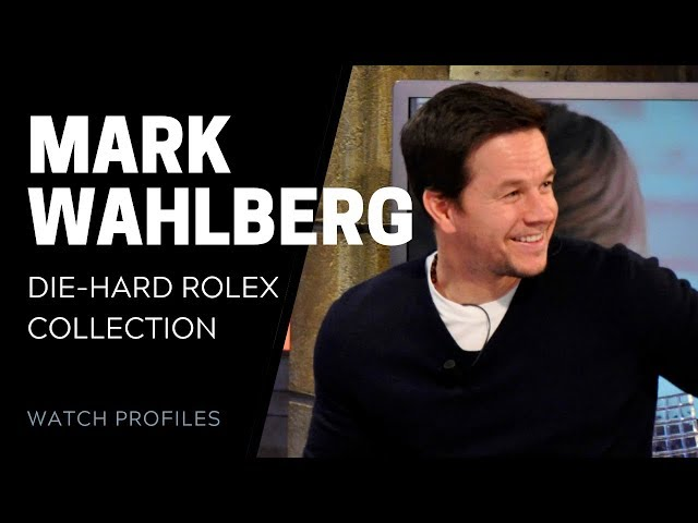 Mark Wahlberg's Die-Hard Rolex Collection | SwissWatchExpo [Watch Collection]