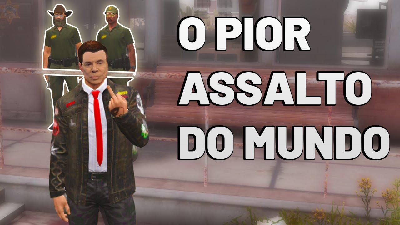 SILVÃO NO ASSALTO MAIS BIZONHO DA HISTÓRIA KKKKKKK (GTA RP)