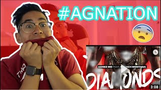 MUST SEE! Agnez Mo - Diamonds ft. French Montana [Official Audio] REACTION!