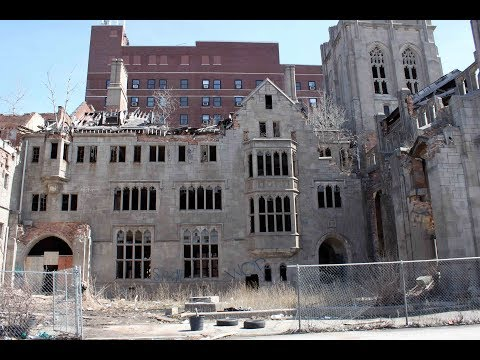 Abandoned City Methodist Church in Gary Indiana