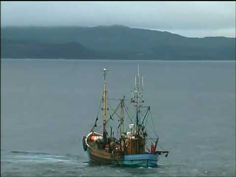 Traditional Scottish Fishing Boat