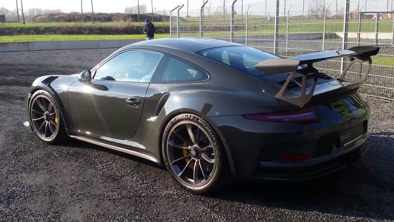 Porsche 911 GT3 RS - Typ 991.1 - slategray - edo competition - - YouTube