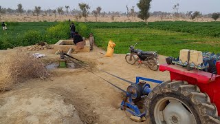 Pumping Water From 300ft   Tubewell Technology System With Tractor   Agriculture In Pakistan