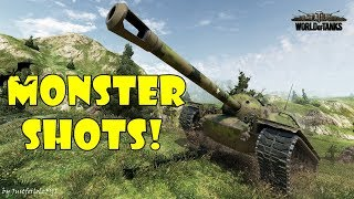 World of Tanks - Funny Moments | MONSTER SHOTS! #5