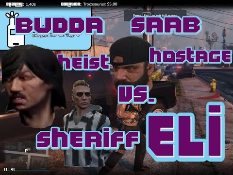 Sheriff Eli vs. Budda & Saab's Bank Heist/Hostage