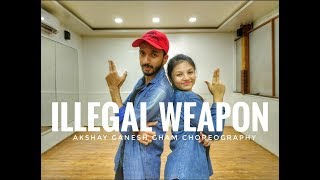 Illegal Weapon dance Choreography | Garry Sandhu | Sakshi Raisurana