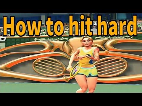 テニスクラッシュサーブやレシーブを強く打つ方法を紹介【Tennis Clash】