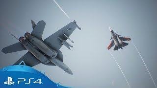 Ace Combat 7: Skies Unknown | TGS 2017 Gameplay Trailer | PS4