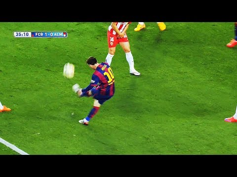 Lionel Messi ● 14 Ridiculous CURVE Goals No One Expected ||HD||