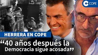 """Herrera: """"El Gobierno ha echado de su país al Rey que paró el golpe"""""""