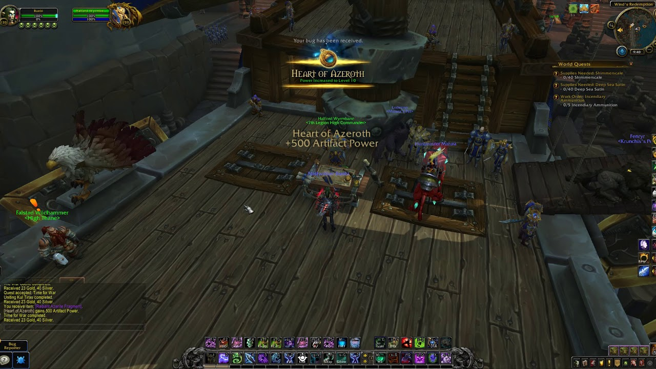 WoW quests - Time for War (Alliance)