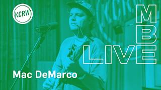 """Mac DeMarco performing """"Hey Cowgirl"""" live on KCRW (Audio Only)"""