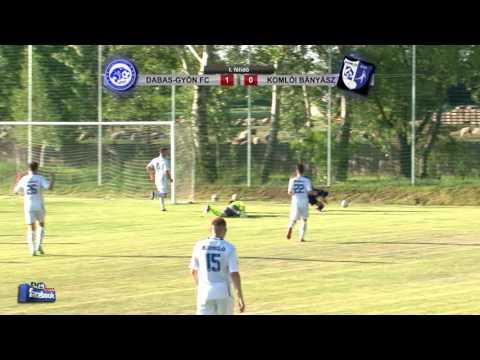 DABAS-GYÓN FC - SPORT 36 KOMLÓI BÁNYÁSZ  2 - 0 (1 - 0)