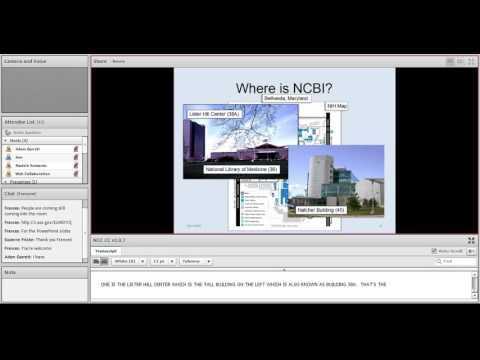 NCBI Workshop Series - Navigating Molecular Data Using the Integrated Entrez System and BLAST