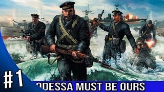 Men of War Red Tide Walkthrough - Odessa Must Be Ours - Baptism By Fire 1/5