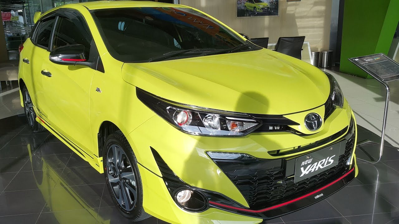 Toyota Yaris Trd Sportivo 2018 Indonesia All New Camry Black Cvt 1 5 Youtube