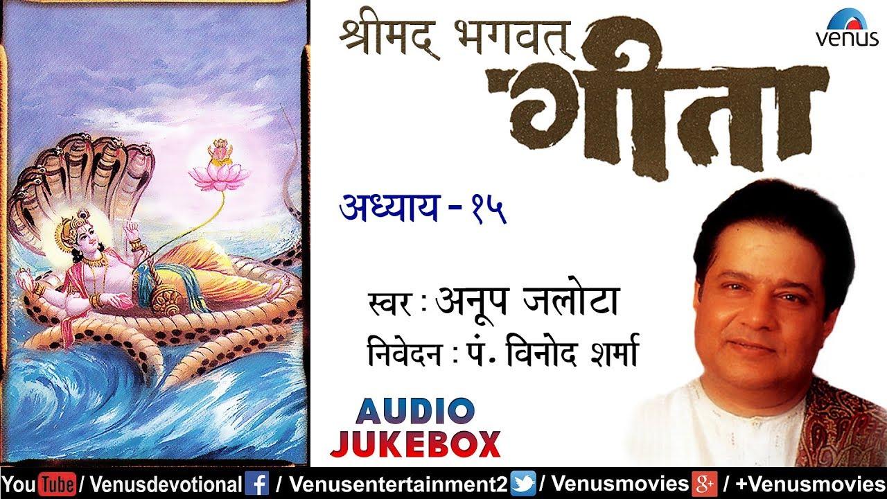 Shreemad bhagwat geeta vol. 10 anup jalota, triveni, bhavani.
