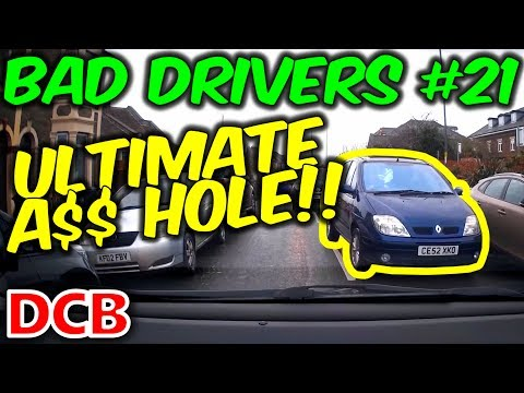 UK Dash Cam - Bad Drivers Of Bristol #21