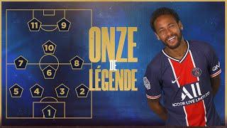 Le onze de légende de Neymar Jr  📋