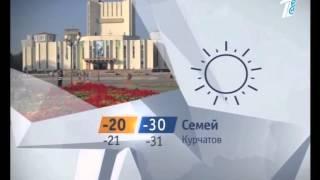 Погода на Первом канале Евразия (Казахстан) - 06.02.14