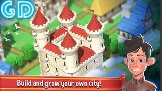 Crafty Town - Idle City Builder Gameplay Android