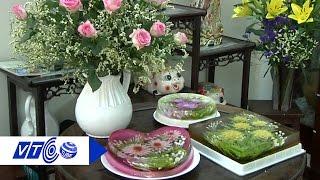 Bí quyết làm thạch rau câu 3D hoa cúc | VTC