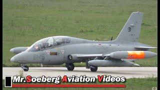 2x MB339 Italian AF ARRIVALS at Eindhoven