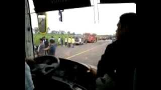 2 Ceres Bus Liner Accident