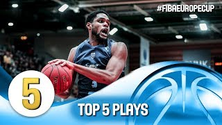Top 5 Plays - Gameday 1 - Round 2 - FIBA Europe Cup 2018-19