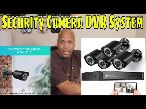 HeimVision Security DVR Camera System With Night Vision, Motion Detection And App