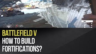 المعركة 5 - كيفية بناء التحصينات?